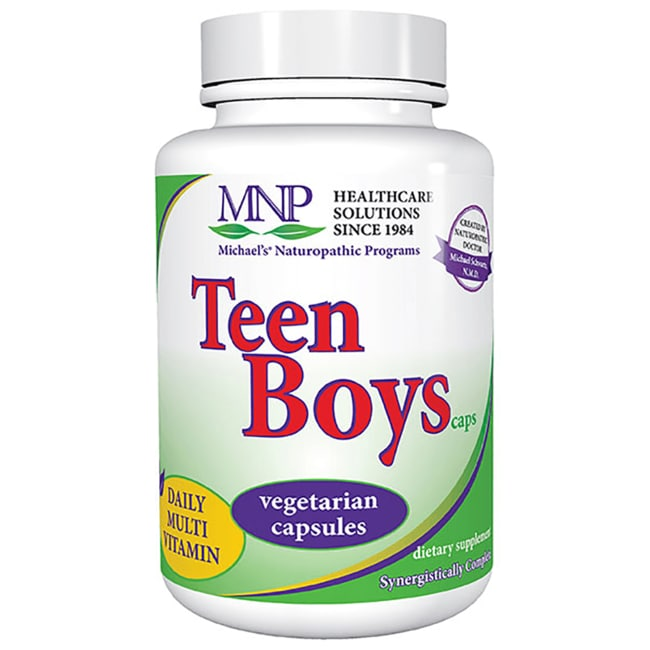 Michael's Naturopathic Programs Teen Boys Caps Daily Multi Vitamin
