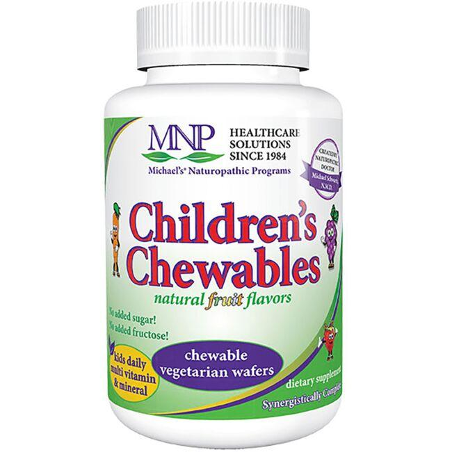 Michael's Naturopathic ProgramsChildren's Chewables Multi Vitamin & Mineral - Natural Fruit