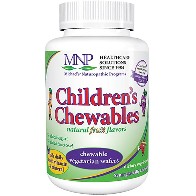 Michael's Naturopathic Programs Children's Chewables Multi Vitamin & Mineral - Natural Fruit