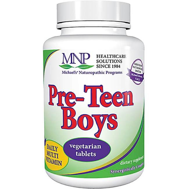 Michael's Naturopathic Programs Pre-Teen Boys Daily Multi Vitamin