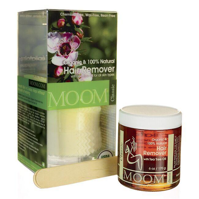 MoomOrganic Hair Remover Classic Kit
