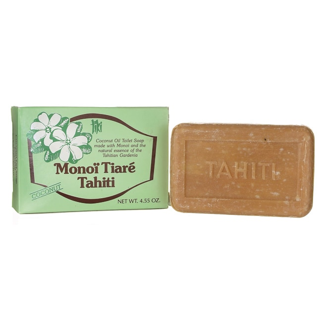 Monoi TiareSoap Bar Coconut