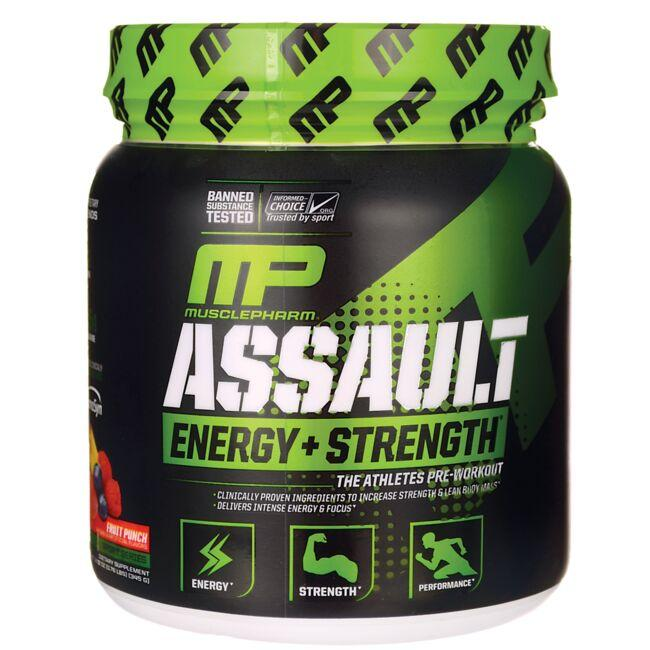 Muscle PharmAssault Energy + Strength - Fruit Punch