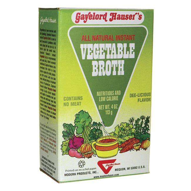 Modern ProductsGayelord Hauser's All Natural Instant Vegetable Broth