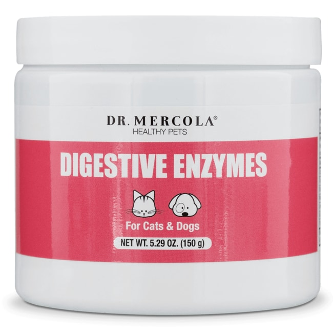 Dr. MercolaDigestive Enzymes for Cats & Dogs