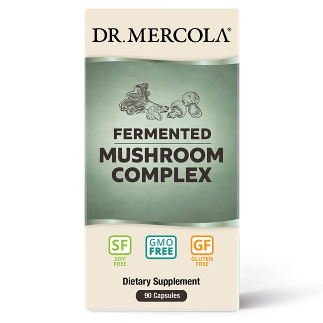 Dr. MercolaFermented Mushroom Complex