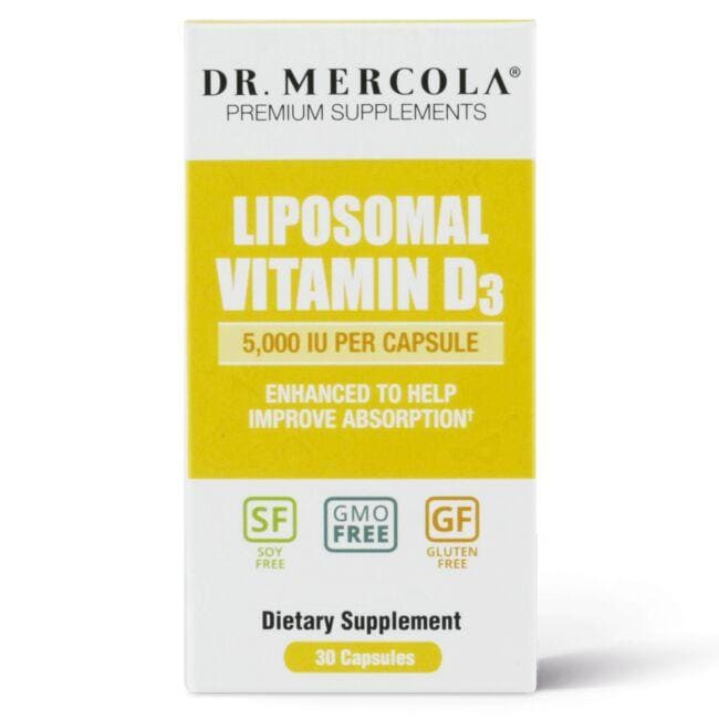 Dr. MercolaLiposomal Vitamin D3