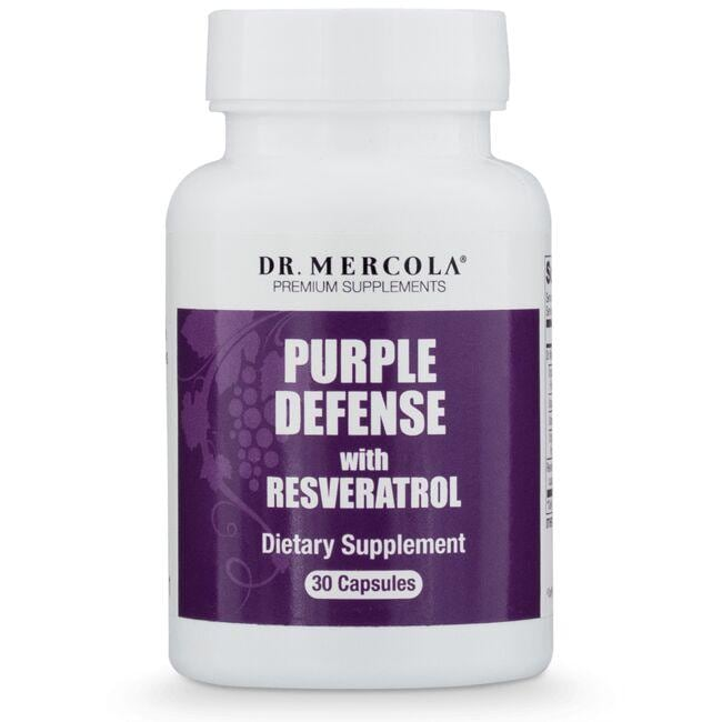 Dr. Mercola Purple Defense with Resveratrol
