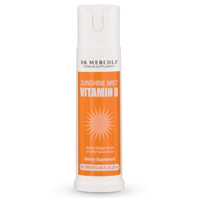 Dr. Mercola Sunshine Mist Vitamin D3 - Orange