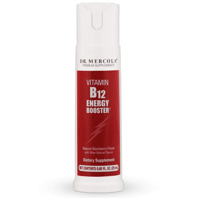 Dr. MercolaVitamin B12 Energy Booster
