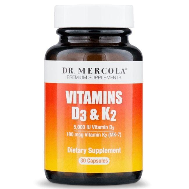 Dr. MercolaVitamins D & K2