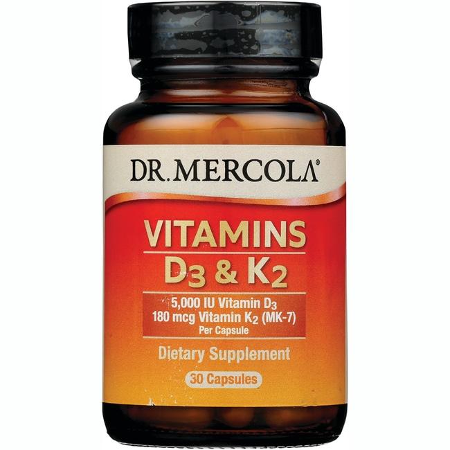 Dr. MercolaVitamins D & K2