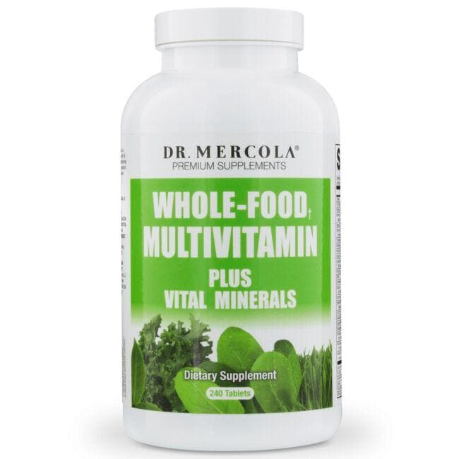 Dr. Mercola Whole-Food Multivitamin Plus Vital Minerals