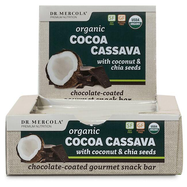 Dr. Mercola Organic Cocoa Cassava with Coconut & Chia Seeds