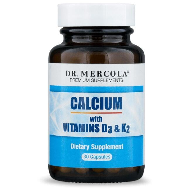 Dr. MercolaCalcium with Vitamins D3 & K2