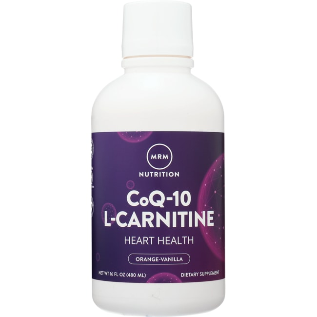 MRMCo-Q10 With L-Carnitine Natural Orange
