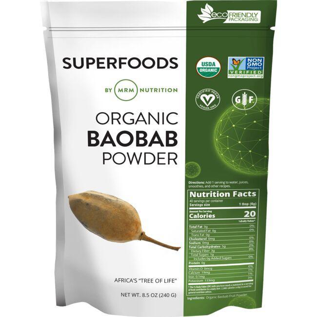 MRMRaw Organic Baobab Powder