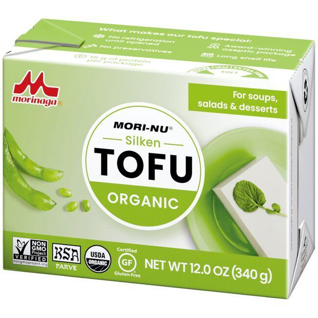 Mori-NuOrganic Silken Tofu - Soft