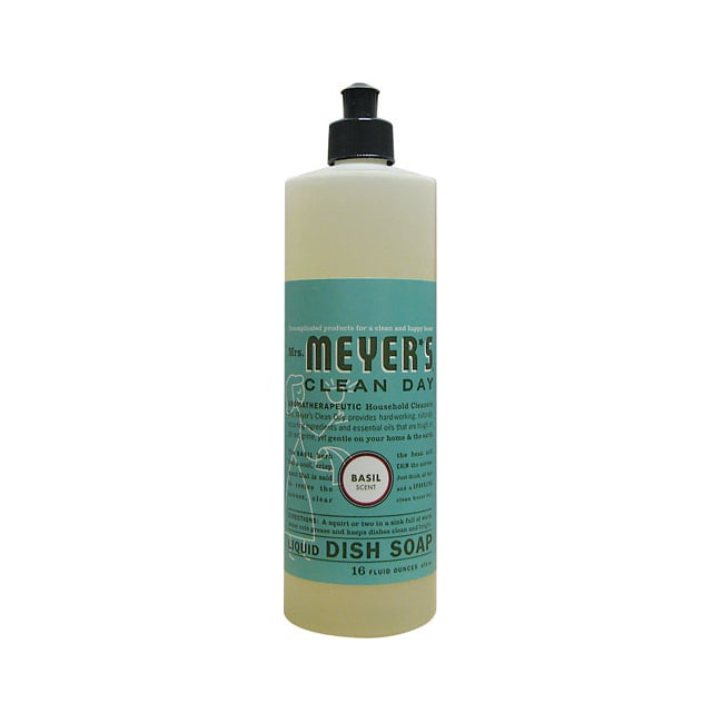 Mrs. Meyer'sClean Day Liquid Dish Soap - Basil