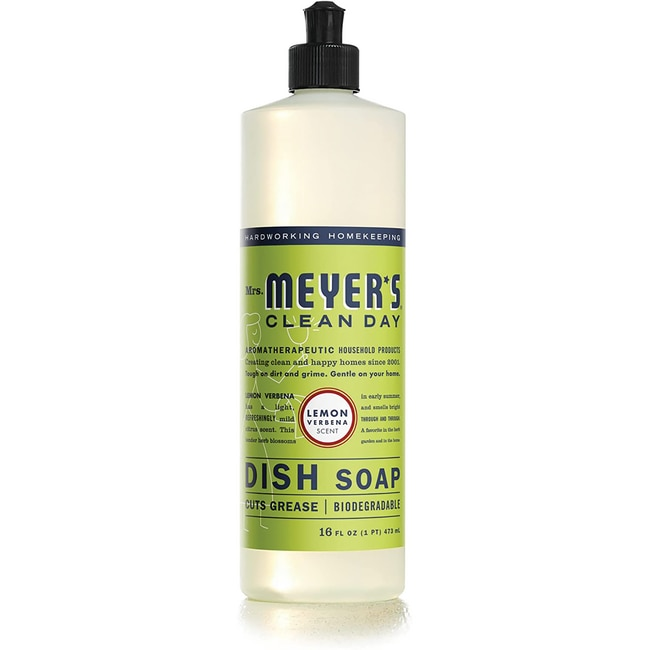 Mrs. Meyer'sClean Day Liquid Dish Soap - Lemon Verbena