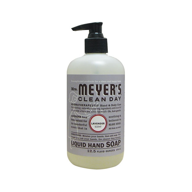 Mrs Meyer S Clean Day Liquid Hand Soap Lavender 12 5 Fl