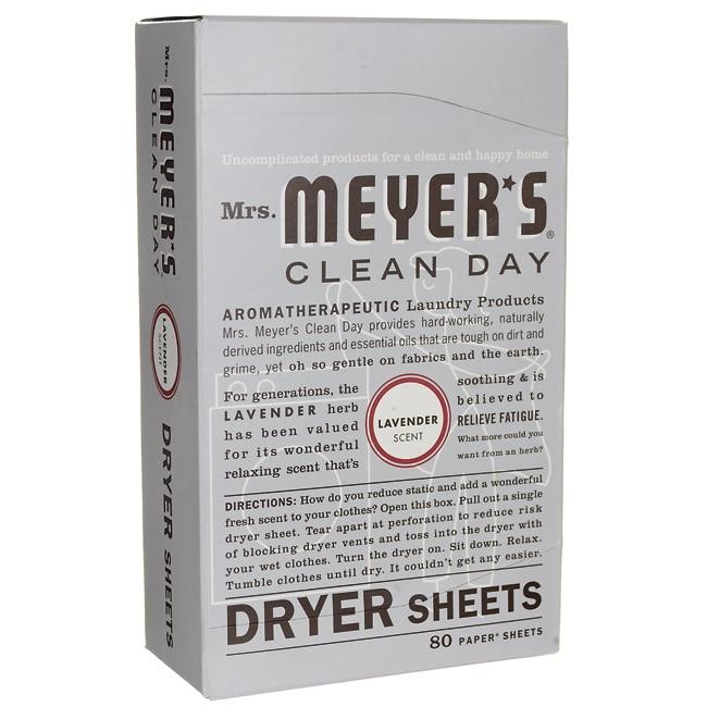 Mrs. Meyer's Clean Day Dryer Sheets - Lavender