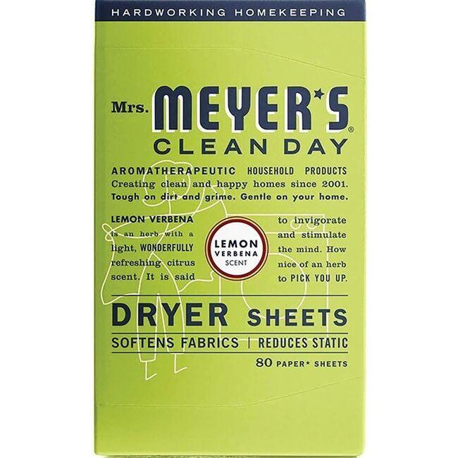 Mrs. Meyer'sClean Day Dryer Sheets - Lemon Verbena