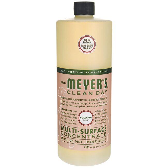 Mrs. Meyer's Clean Day Multi-Surface Concentrate - Geranium
