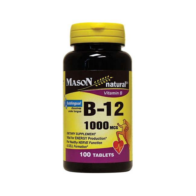 Mason Natural B-12