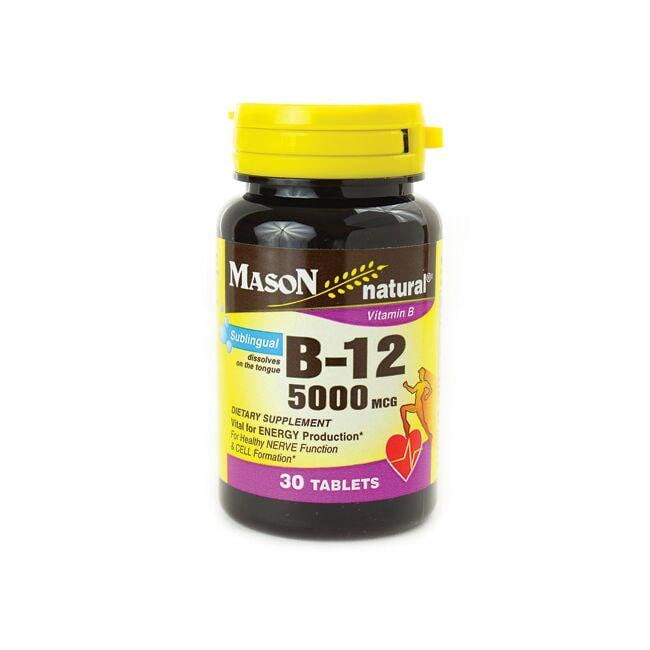 Mason Natural B-12 Sublingual