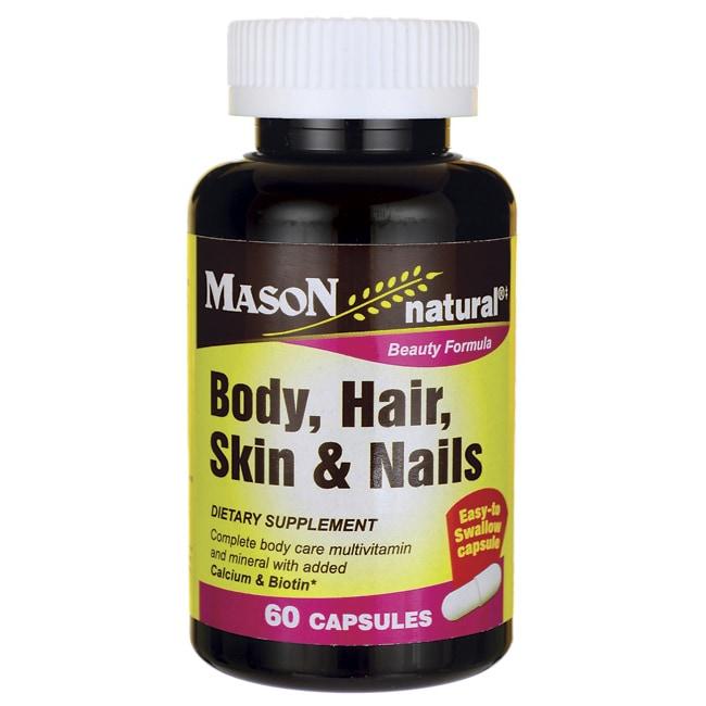 Mason Natural Body, Hair, Skin & Nails
