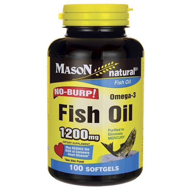 Mason NaturalFish Oil No-Burp