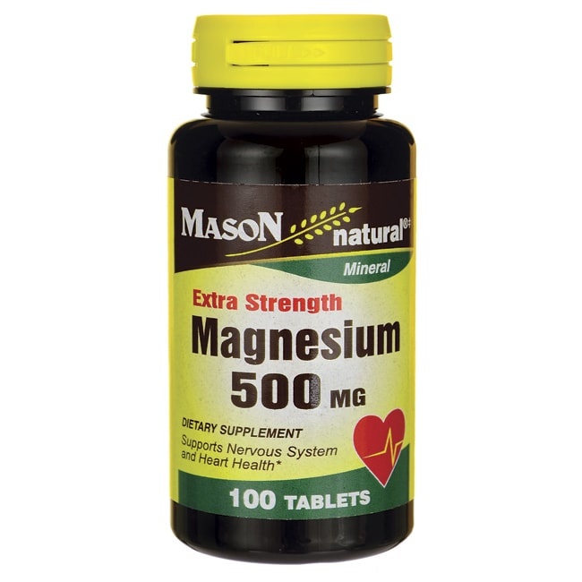 Mason Natural Extra Strength Magnesium