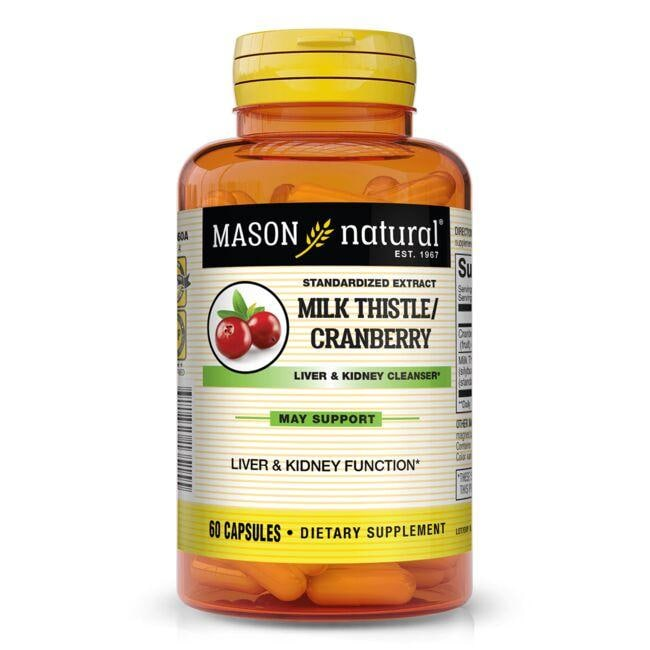 Mason Natural Milk Thistle/Cranberry Liver & Kidney Cleanser