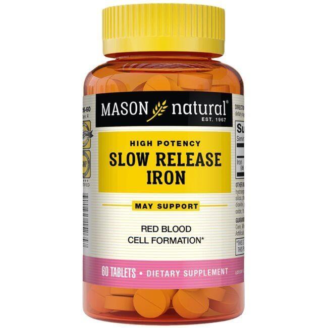 Mason NaturalHigh Potency Slow Release Iron
