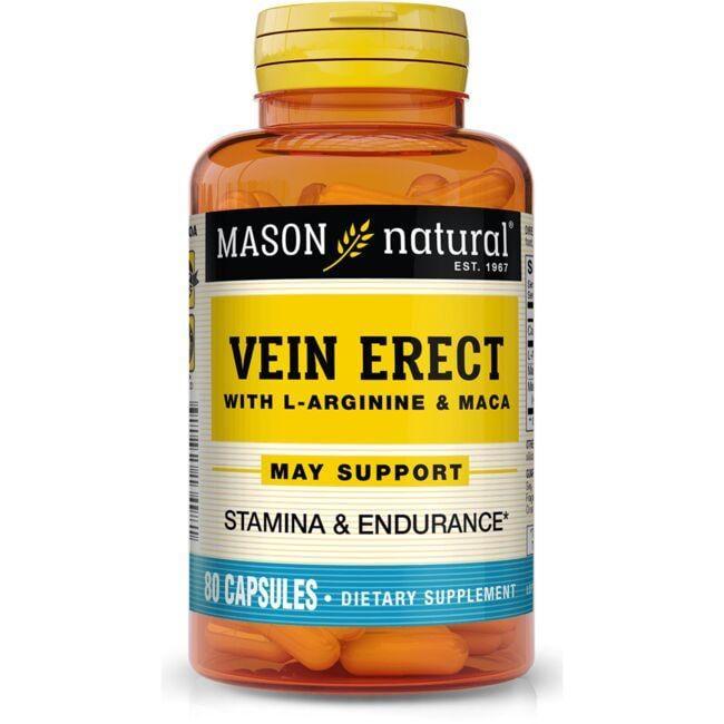 Mason NaturalVein Erect with L-Arginine & Maca