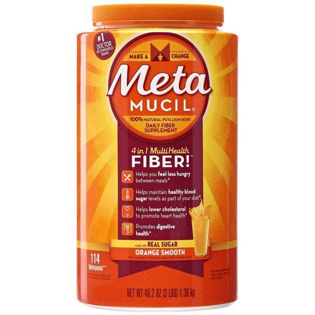 MetamucilPsyllium Fiber - Orange