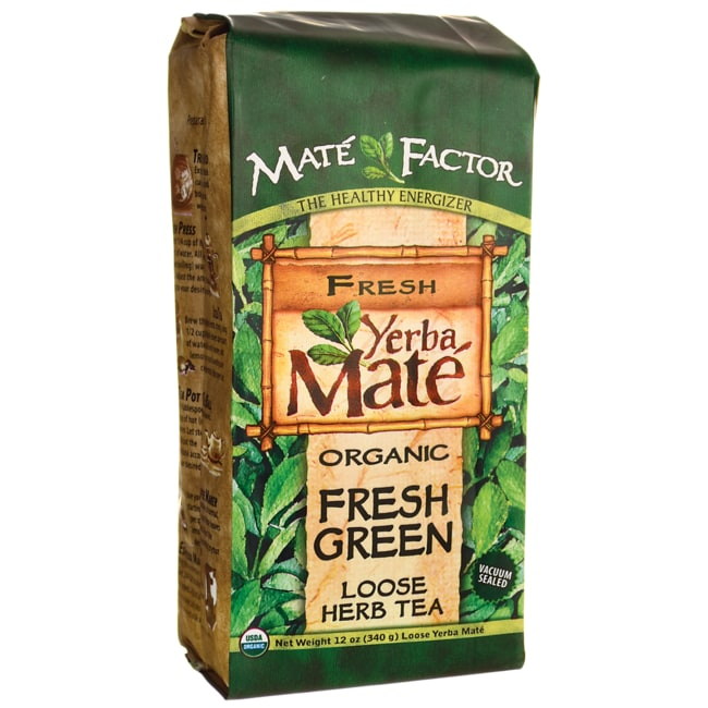 Mate Factor Organic Yerba Mate Fresh Green Loose Tea