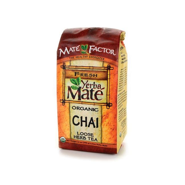 Mate Factor Organic Yerba Mate Chai Loose Tea