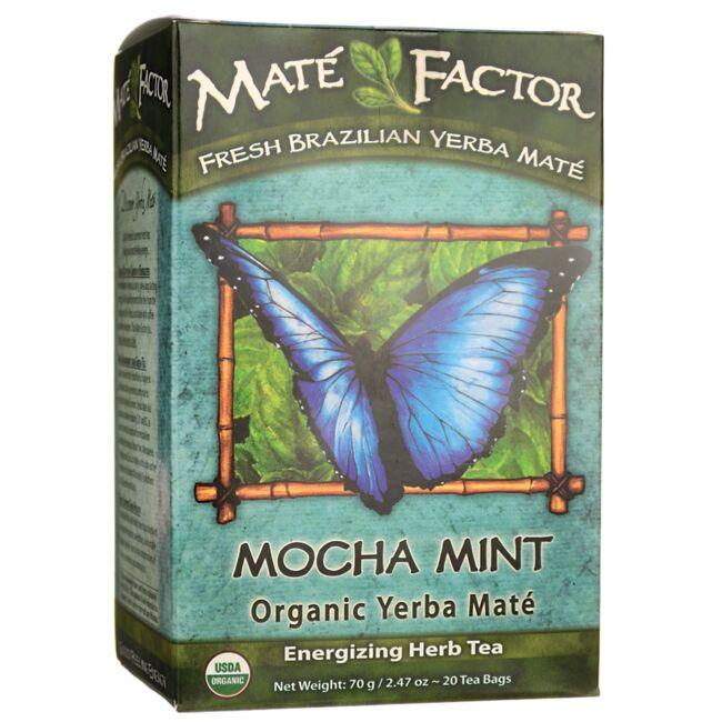 Mate Factororganic Yerba Energizing Tea Mocha Mint