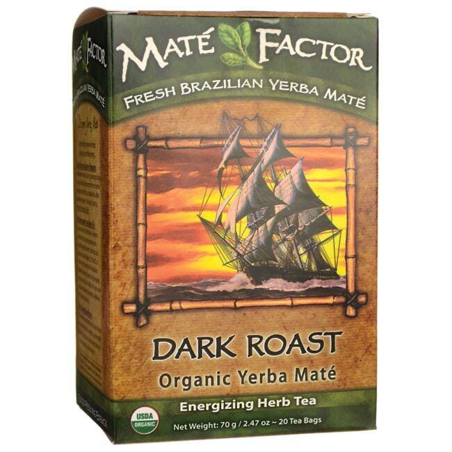 Mate Factor Organic Yerba Mate Energizing Tea - Dark Roast