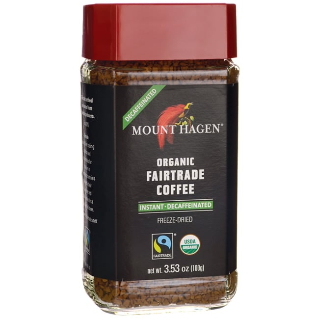 Mount HagenOrganic Fairtrade Coffee - Instant, Decaffeinated