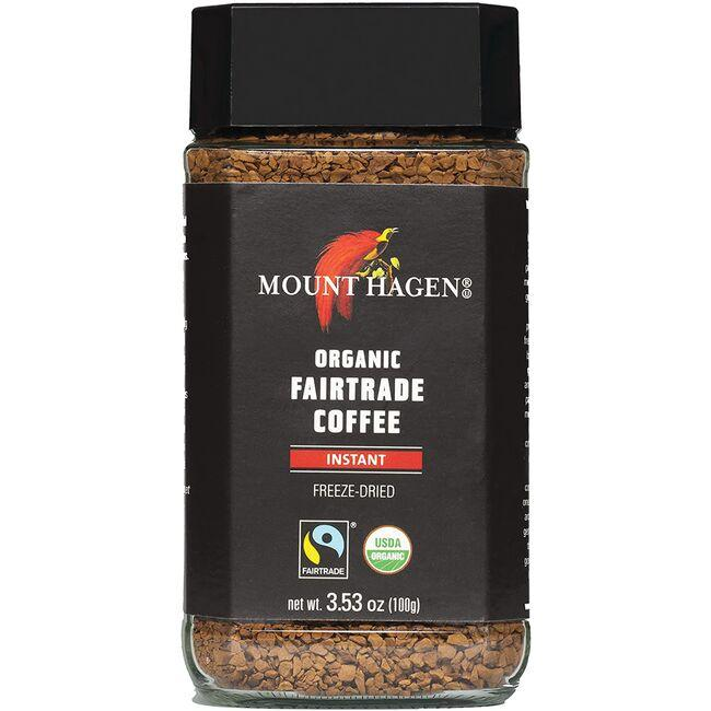 Mount HagenOrganic Fairtrade Instant Coffee - Freeze Dried