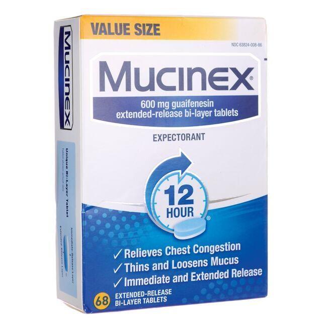 MucinexMucinex 12-Hour Expectorant