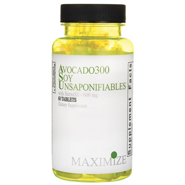 Maximum InternationalAvocado300 Soy Unsaponifiables with SierraSil