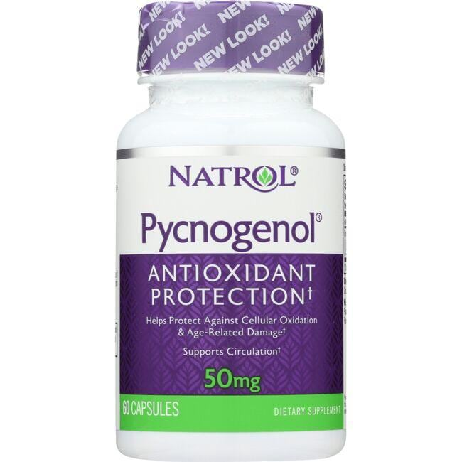 Natrol Pycnogenol 50 Mg 60 Caps Swanson Health Products