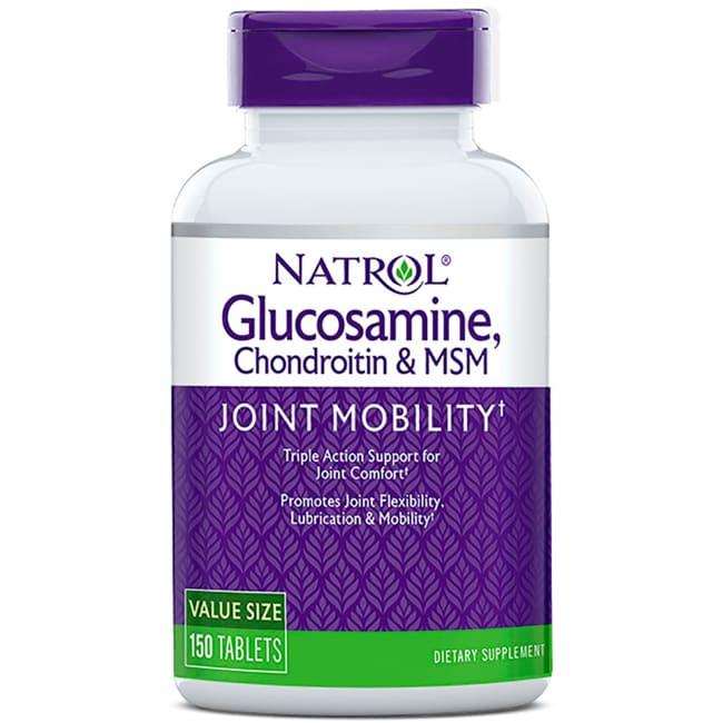 Natrol Glucosamine, Chondroitin & MSM