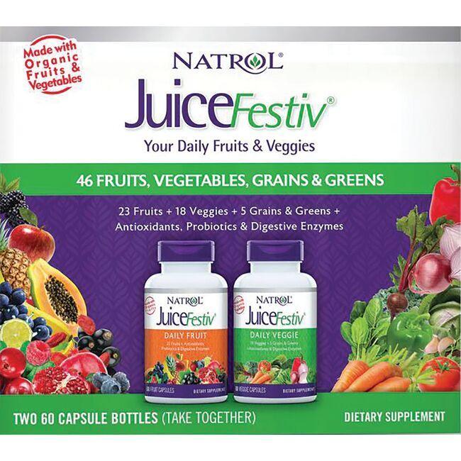 NatrolJuiceFestiv Daily Fruit & Daily Veggie