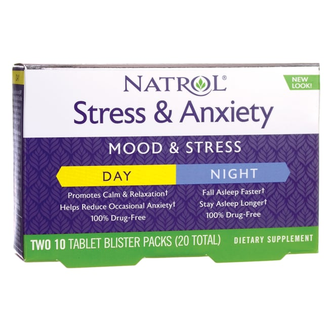 Natrol Stress & Anxiety Day & Nite