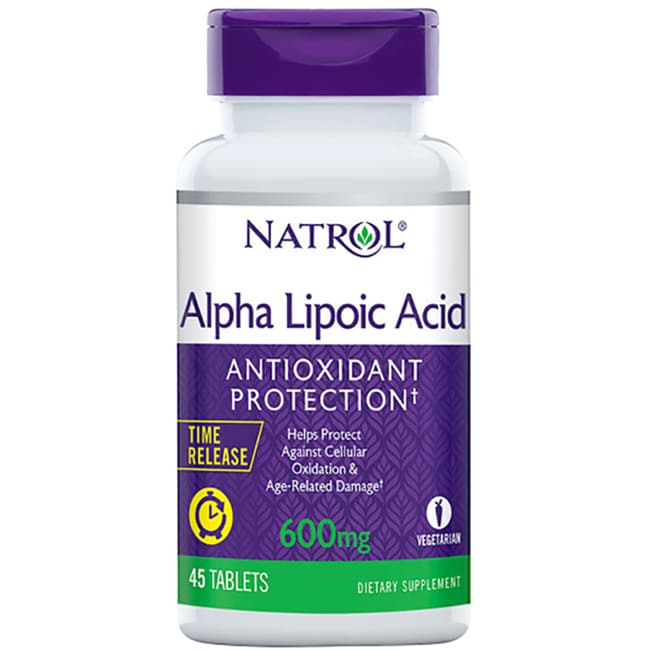 NatrolAlpha Lipoic Acid Time Release